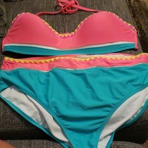 High Waist Bikini no tags xl